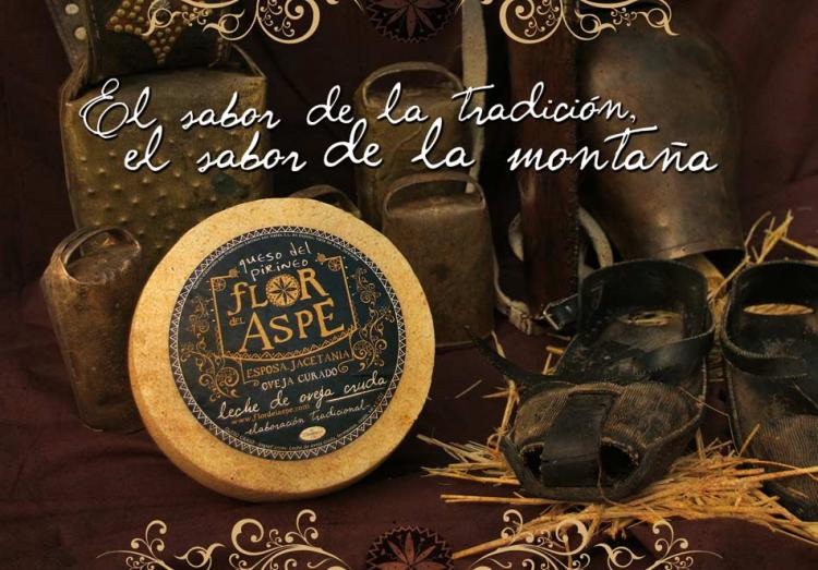Queso del Pirineo Flor del Aspe